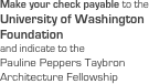 Make your check payable to the 